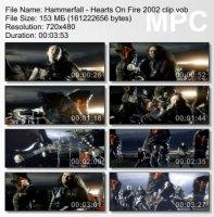 Клип Hammerfall — Hearts On Fire (2002)