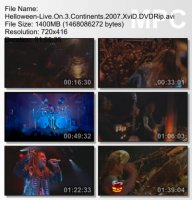 Helloween-Live On 3 Continents DVDRip