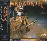 Megadeth-So Far So Good... So What! (Japan Ed.)
