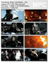 Black Veil Brides-The Legacy HD 720p