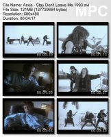 Клип Axxis — Stay Don\'t Leave Me (1993)