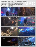 The Cure-Live In Rome Concert (HD 720p)