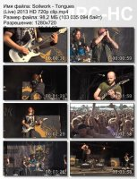 Soilwork-Tongues (Live) (HD 720p)