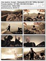 Клип Accept — Stampede (HD 1080p) (2014)