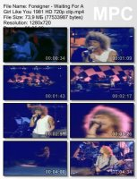 Foreigner-Waiting For A Girl Like You (Live) HD 720p