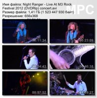 Night Ranger-Live At M3 Rock Festival (DVDRip)