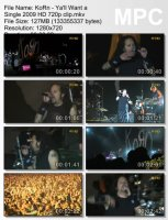 Korn-Ya\'ll Want A Single (HD 720p)
