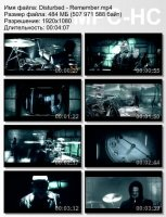 Disturbed-Remember HD 1080p