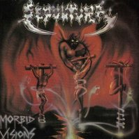 Sepultura-Morbid Visions [First edition on CD, 1987]