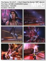 W.A.S.P.-I Don\\\'t Need No Doctor