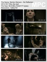 Клип Marilyn Manson — No Reflection HD 720p (2012)