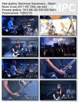 Machinae Supremacy-Attack Music (Live) HD 720p