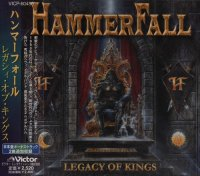 Hammerfall — Legacy Of Kings (Japan VICP-60456) (1998)  Lossless