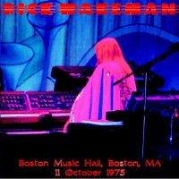 Rick Wakeman-Boston Music Hall, Boston, MA (Live)