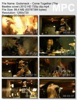 Godsmack-Come Together (The Beatles cover) HD 720p