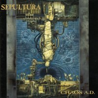 Sepultura-Chaos A.D. (Re-Issue 1996)