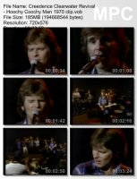 Клип Creedence Clearwater Revival — Hoochy Coochy Man (1970)
