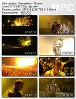 Rammstein-Sonne (Live) (HD 720p)