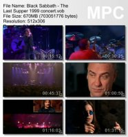 Black Sabbath-The Last Supper (DVDRip)