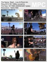 Slash — Live At Rock Am Ring (HD 1080p) (2010)