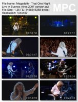 Megadeth-That One Night: Live in Buenos Aires