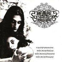 Theatres des Vampires — Vampyrisme, Necrophilie, Necrosadisme, Necrophagie (1996)