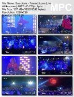 Клип Scorpions — Tainted Love (Live Willkommen) (HD 720p) (2012)