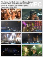 Kid Rock — Live From Fosos Square Floriana, Malta (BDRip HD 1080p) (2010)