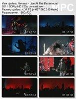 Nirvana — Live At The Paramount (BDRip HD 720p) (2011)