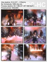 W.A.S.P.-I Wanna Be Somebody