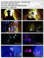 Клип Marilyn Manson — Slo-Mo-Tion HD 720p (2012)
