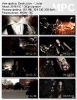 Destruction-Under Attack HD 1080p