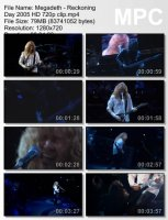 Megadeth-Reckoning Day HD 720p