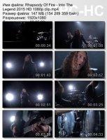 Rhapsody Of Fire-Into The Legend HD 1080p