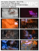Megadeth - Skin O\' My Teeth (HD 720p)