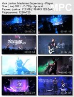 Machinae Supremacy-Player One (Live) HD 720p