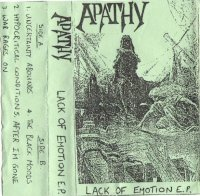 Apathy-Lack of Emotion E.P.