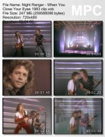 Night Ranger-When You Close Your Eyes