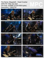 Megadeth-Head Crusher (HD 720p)