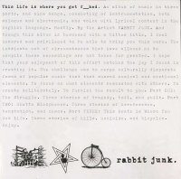 Rabbit Junk-This Life Is Where You Get Fucked