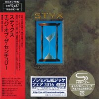 Styx — Edge Of The Century [Japan Mini LP SHM-CD] (Reissue,Remastered 2016) (1990)
