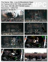 Nile — Live At Bloodstock Open Air Festival (HD 720p) (2012)