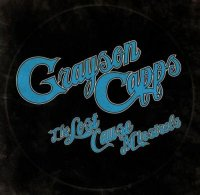 Grayson Capps-The Lost Cause Minstrels
