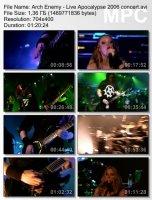Arch Enemy — Live Apocalypse (DVDRip) (2006)