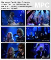 Electric Light Orchestra — Zoom Tour Live (DVDRip) (2001)