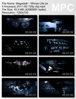 Megadeth-Whose Life (Is It Anyways) HD 720p