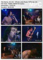 Клип AC/DC — Whole Lotta Rosie (1978)