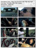 Korn-Way Too Far HD 720p
