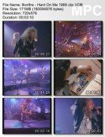 Клип Bonfire - Hard On Me (1989)