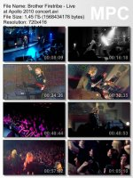 Brother Firetribe — Live At Apollo (DVDRip) (2010)